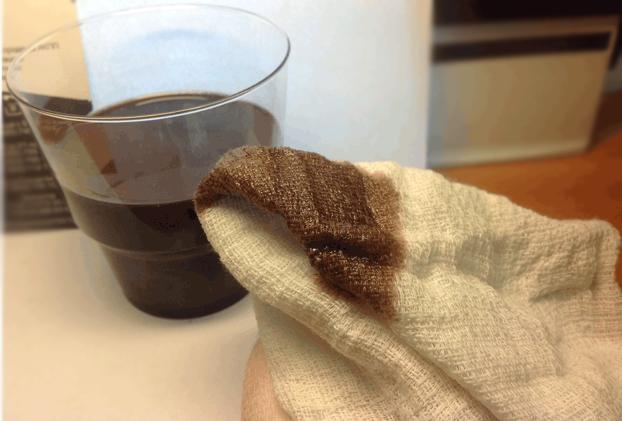 грязное масло в АКПП