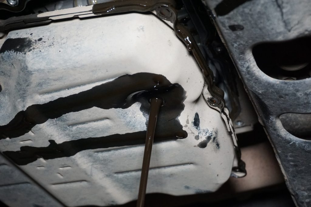 замена масла в АКПП Тойота