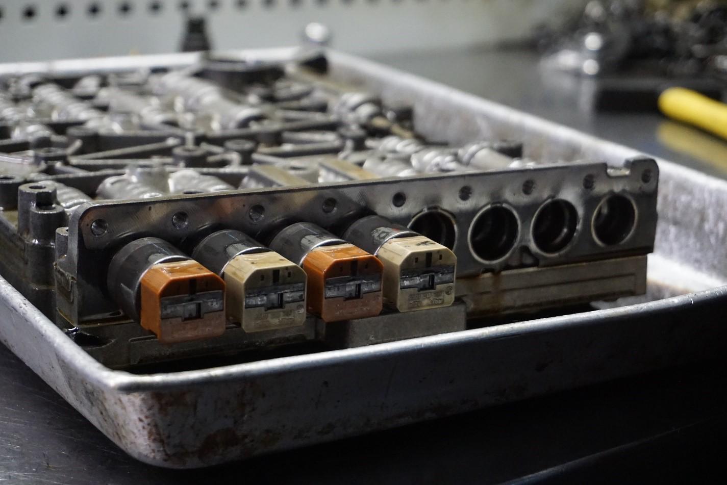 ремонт гидроблока акпп