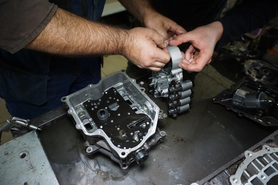 ремонт мехатроника OAM