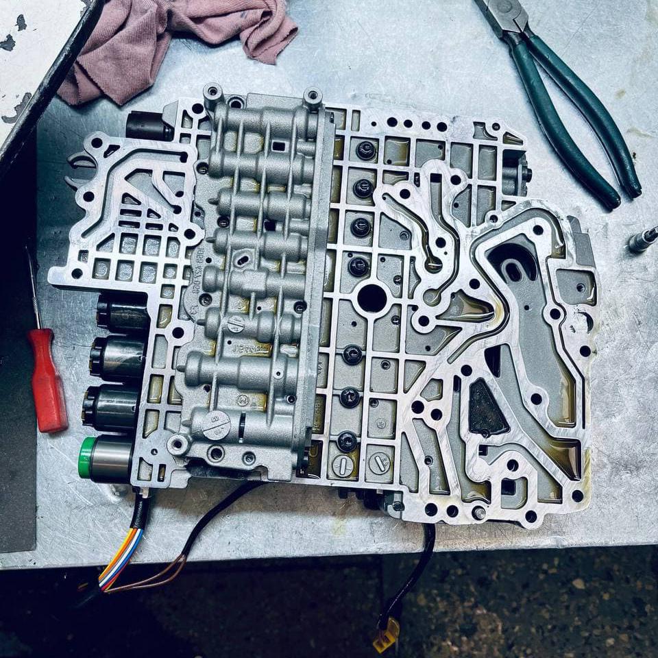 Ремонт коробки автомат ZF 5HP24 от БМВ 730D в Москве