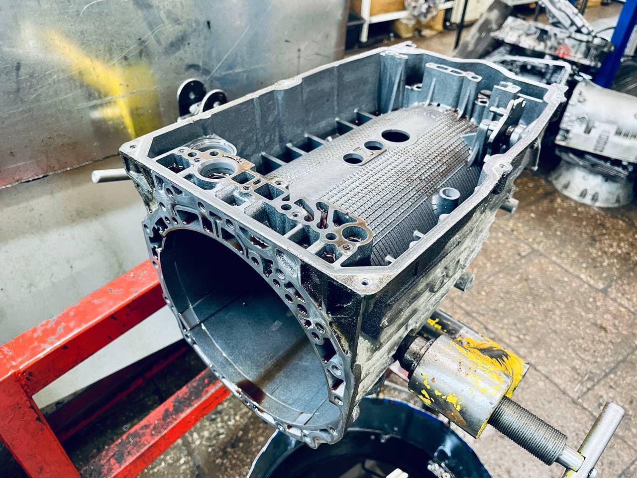 Капитальный ремонт коробки автомат Mercedes-Benz S63 AMG