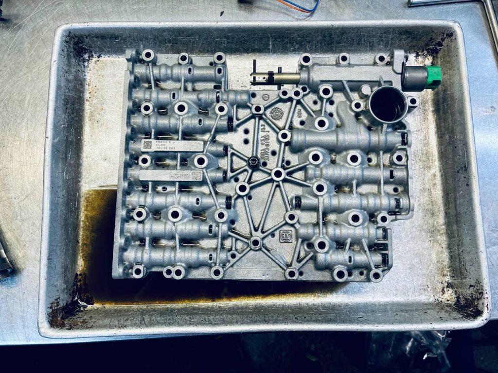 ремонт акпп рендж ровер