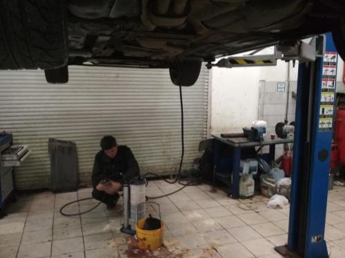 Замена масла в АКПП БМВ Е46