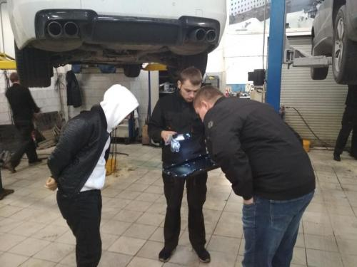 Замена масла в АКПП БМВ M Series
