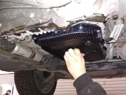 Замена масла в АКПП БМВ X1